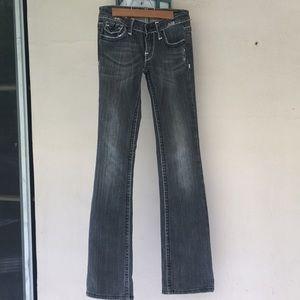 Anoname Joelle Boot Cute Denim Jeans